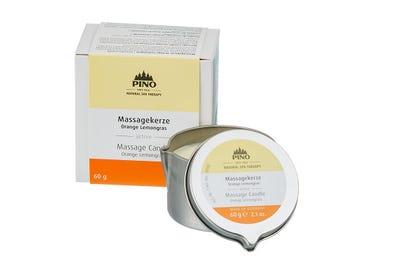 Massagekaars Sinaasappel Limoengras