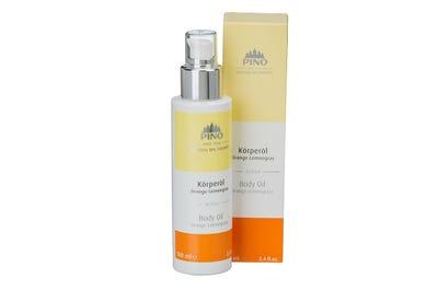 Körperöl Orange Lemongras von Natural Spa Therapy