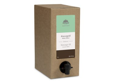 Massageolie Kokos Munt 3 liter