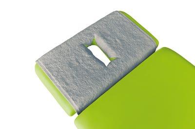 PINOTEX badstof hoofdsteundoeken met neusuitsparing light  grey