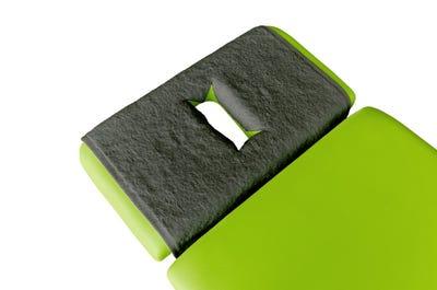PINOTEX Frottee Nasenschlitztücher dark grey, 5er Pack