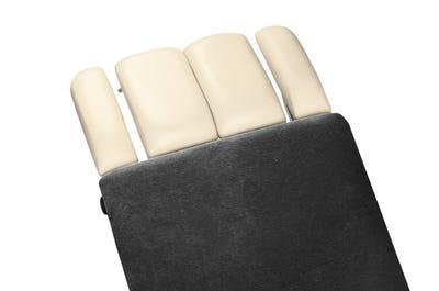 Liegen-Spannbezug 65 cm Breite ohne Kopfteil auf Liege, dark grey