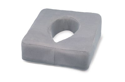 Neus Uitsparingskussen met gel-laag grey