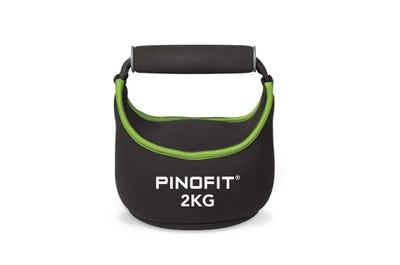 PINOFIT Kettlebell Soft 1 kg aus weichem Neoprenmaterial