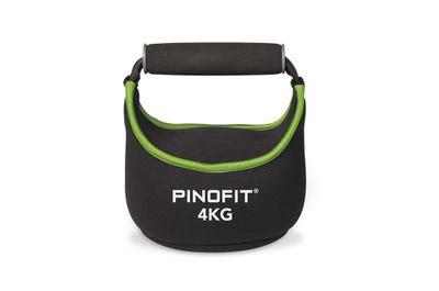 PINOFIT Kettlebell Soft 4 kg aus weichem Neoprenmaterial