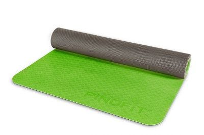 PINOFIT® Yogamat lime/grey