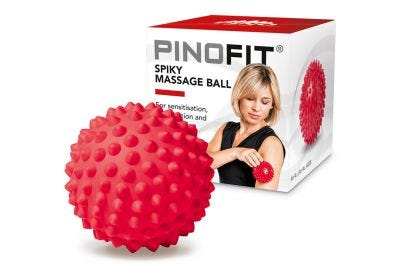 PINOFIT Igelball red mit Verpackung