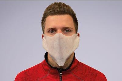 Gesichtsmaske aus 100 % Vlies