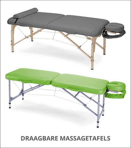 Draagbare massagetafels